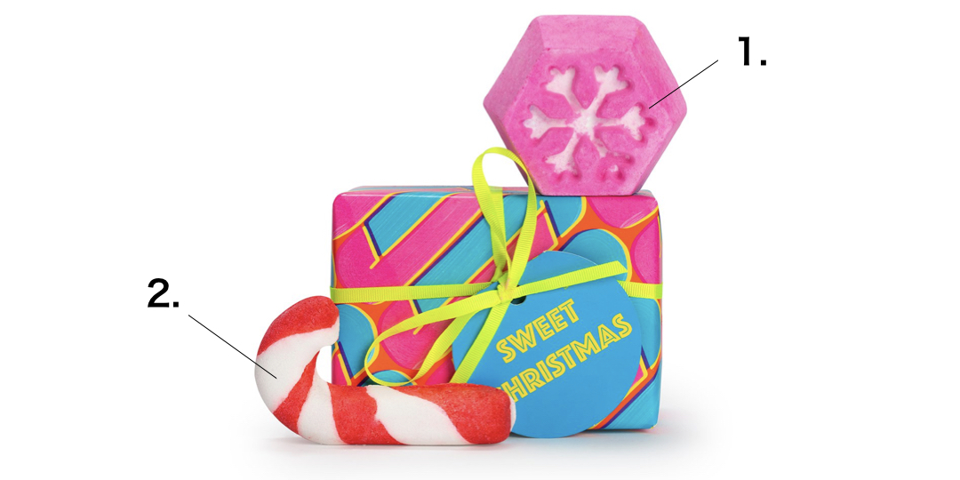 LUSHおすすめギフト スウィートクリスマスの紹介