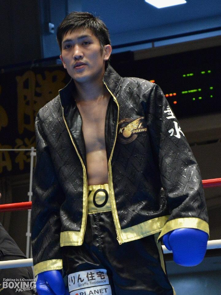 プロボクサー垂水稔郎