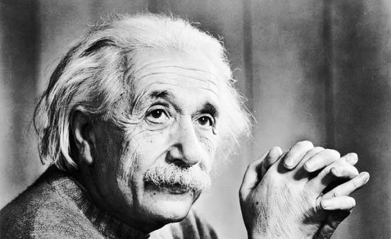 アルベルトアインシュタインの名言