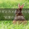 ウサギとカメの話から学ぶ結果の必然性を解説